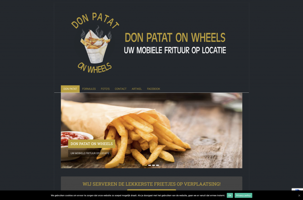 Don Patat on Wheels