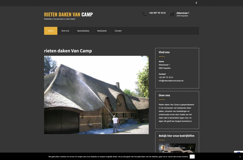 rietendaken Van Camp